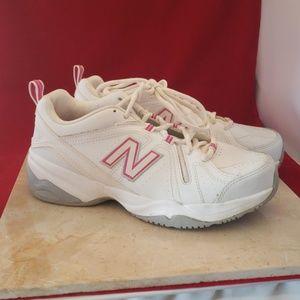 New Balance 608 v4 White & Pink Size 7
